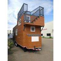 Buy cheap Steel Frame Prefabricated Tiny House on wheels Pre Built Tiny Homes AISI S100 AS from wholesalers