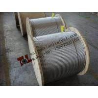 China 1.4401 1x19 6mm Stainless Steel Wire Rope Net Weight 180 kgs per 1000m wholesale