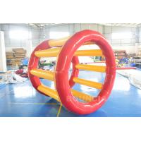 China PVC Tarpaulin Inflatable Hamster Wheel For Outdoor Water Activity wholesale