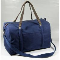 China Heavy Canvas Christmas Travel Bag with shoulder straps wholesale