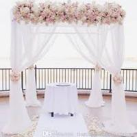 China Adjustable 8-20ft High Quality Pipe And Drape Wedding Backdrop Pipe And Drape Frame Cheap Pipe Drape wholesale