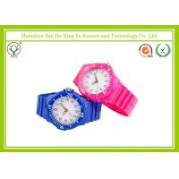 China School Student Silicone Bracelet Kids Cartoon Watches With Luminous Color Dial on sale