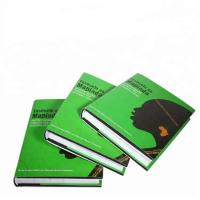 China A5 Size Journal Hardback Book Printing SGS Certification Aqueous Coating wholesale