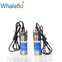 China Whaleflo 24V DC portable electric submersible solar power water pump for irrigation wholesale