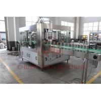 China Counter Pressure Juice Beverage Filling Line Commercial Beer Canning Equipment wholesale