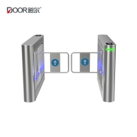 China Outdoor Optical Turnstile LED Light Swing Arm Barrier CE Certified wholesale