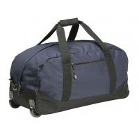 China High Density Wheeled Duffle Bag Luggage , Rolling Duffle Bag With Shoulder Strap wholesale