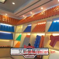 China Waterproof Glazed Tile Making Machine for PVC Roof Panel , 1.5 ~ 5m/min High Production wholesale