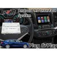 China Google Map / Wase Android Car Interface For Chevrolet Impala / Colorado Mylink System 2015-2018 on sale