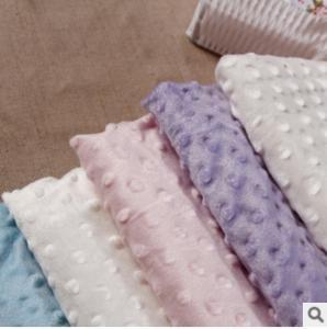 China Supersoft flannel knit pressure bubble, warp velvet fabric wholesale