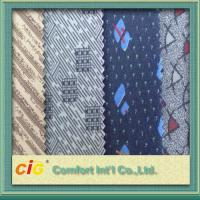 China Polyester Warp Knitting Tricot Auto Upholstery Fabric For Bus , Car Seat Upholstery Cloth wholesale