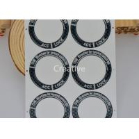 China Glow In Dark PU Polyurethane Domed Labels Waterproof Domed Decals wholesale
