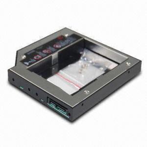 China 2.5-inch 2nd HDD/Hard Drive Caddy for Dell E Series E6400/E6500/E6410/E6510/M4400/M4500 on sale