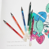 Buy cheap Retractable Non Toxic Thermochromic Ink Frixion Ball Pen from wholesalers