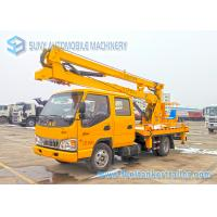 China JAC High Operation Aerial Platform Truck Left  / Right Hand Drive wholesale