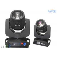 Buy cheap Double Prism10R 280W Beam Spot Wash Moving Head Stage Light 16 / 20 Channels DMX from wholesalers