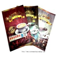 Digital Printing Custom Reusable Bags , Plastic Stand Up Pouch Coffee Bags