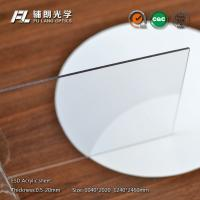 China 8mm Clear static dissipative acrylic Sheet Resistance To Chemical Solvents wholesale