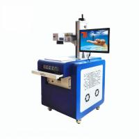 China Cold Light Source Glass Engraving Machine For Plastic Crystal UV Laser Marking on sale