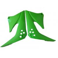 China Motorcycles plastic parts,Kawasaki KLX125 fuel tank guard  green(colour) wholesale