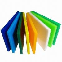 China Color Thin Acrylic Perspex Sheets, Made of PMMA wholesale