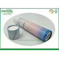 China High End Custom Paper Tube Packaging , Rigid Cardboard Kraft Paper Tube Containers wholesale