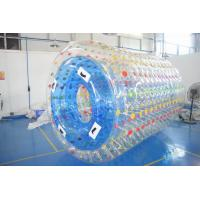 China 2.8m Long Water Roller Ball , Inflatable Roller For Lake Or Swimming Pool wholesale