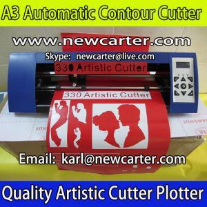 China A3 Contour Cutting Plotter Silhouette Cameo Graphtec Protrait ARM Vinyl Cutter 330 Contour wholesale
