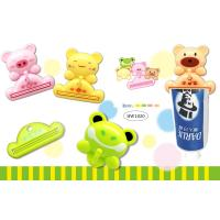 China TOOTHPASTE SQUEEZER WITH HANGER - 4 DIFFERENT ANIMAL DESIGN wholesale