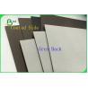 China FSC Certified C1S Grey Back Coated Duplex Board Jumbo Roll 300g / 350g / 450g wholesale