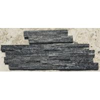China Black Quartzite Thin Stone Veneer,Split Face Z Stone Wall Panels,Quartzite Zclad Stone Cladding,Culture Stone wholesale
