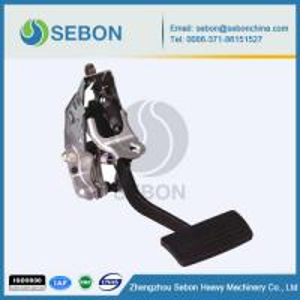 China Aluminum alloy brake pedal casting on sale