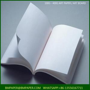 China Magazine Printing 157gsm Gloss Art Paper wholesale