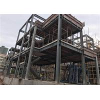 Buy cheap H Section Steel Prefab Villa Steel Structure Homes With Cement Board from wholesalers