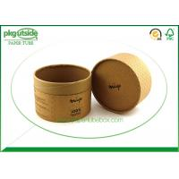 China Handmade Cardboard Tube Boxes Embossing Surface Finish Damp - Proof Eco - Friendly wholesale