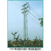 Buy cheap 10kv Power Line Tower Pole from wholesalers