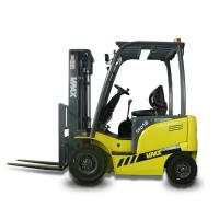 China Chinese 1.5 Ton Electric Four Wheel Drive Forklift With Side Shifter / AC Motor wholesale