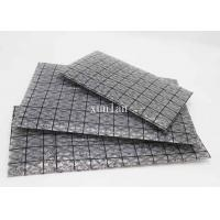 China Flat Open Black Conductive Grid Bag 6 * 9 Inch For Packaging Mother Boards wholesale