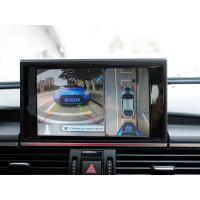 China HD Audi A6 Car Rearview Camera System With 360 Degree Bird View, IP67, loop recording, Around View Monitoring wholesale