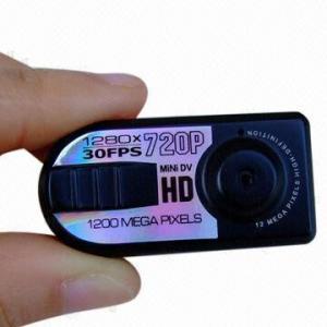 China 720P HD Mini Thumb DV with Motion Detection wholesale
