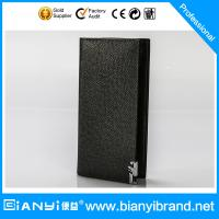 China Fashion wholesale organized man leather purse OEM leather wallet on sale