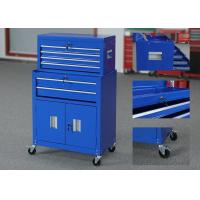 China 8 Drawers Movable Tool Chest And Cabinet Combo On Wheels For Storage wholesale