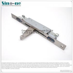 China lever action sus304 fire flush bolt for double metal door wholesale