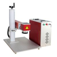 China 0.5MM Depth IPG Mini Laser Engraver Machine 7000MM Marking Speed For Metal wholesale