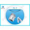 China Silver Die Casting Aluminium Tube Joints / Female Aluminum Tubing Connectors wholesale