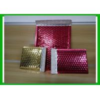 China Bespoke Shiny Printed Aluminum Foil Bubble Bags For Fragile Products wholesale
