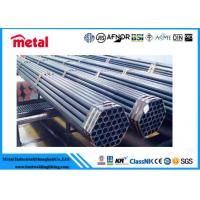 China ASTM A179 Cold Drawn Steel Pipe , Sa 192 High Pressure Heat Exchanger Piping wholesale