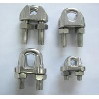 China Stainless Steel US, DIN741 and JIS Type Wire Rope Clips wholesale