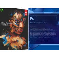 Buy cheap Geniune Microsoft Adobe Photoshop CS6 Software For Beginning / Artwork Design from wholesalers