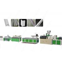 China SJ55 Soft PVC Window Profile Extrusion Line 65 MM Single Screw With Gas Vent wholesale